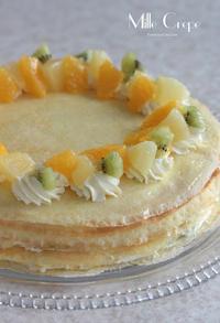 フルーツのミルクレープ - Tortelicious Cake Salon
