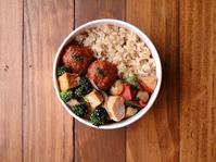2/10(金)煮込みミートボール弁当 - おひとりさまの食卓plus