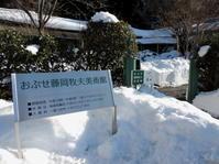 長野そぞろ歩き:おぶせ藤岡牧夫美術館 - 日本庭園的生活