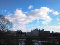 空に浮かぶ雲に Coldplay_Adventure of a lifetime - そろそろ笑顔かな