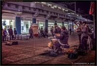 御徒町のストリート演奏 - TI Photograph & Jazz