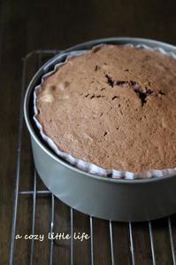 バレンタインのチョコレートケーキ - a cozy little life