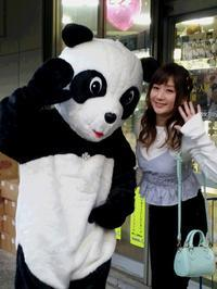 〝とってぃ〟こと、レースクイーンの兎澤 香 (とざわかおり) タン… ♡ ♡ - 所沢名物・ラッキーパンダ♪