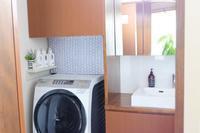 初公開の洗面収納・ダイソーとマステでビフォー・アフター - WITH LATTICE