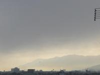 今朝の耳納連山 - 呑むさん蝶日記
