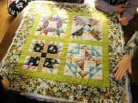 魅力的なタペストリーたち - eri-quilt日記2