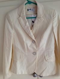 BHS 白 ジャケット 未使用 - 不要となった色々なものを片付けたい。幸せを招きいれるスペース作り。