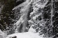 白猪の滝の氷瀑 - 藍。の着物であるこう