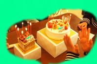 次女の誕生日/ミモザの様子/白菜とカタツムリ - DOUBLE RAINBOW