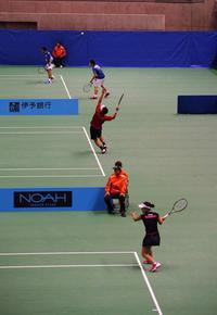 第31回テニス日本リーグ・・・東京体育館 - あおいくまの子守歌