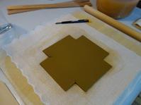 信楽赤土角小鉢★型紙を早く形にしてみたくて - 月夜飛行船