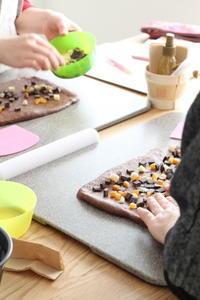 【レッスンレポ】2月BREAD LESSON - パンとアイシングクッキー、マシュマロフォンダントの教室 launa