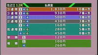 (住之江12R)スカパー!・JLC杯競走優勝戦 - Macと日本酒とGISのブログ