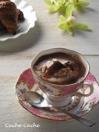 ミント風味のショコラショー - Cache-Cache+