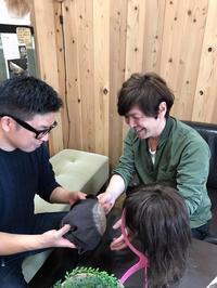 自然な医療用ウィッグを作るために 人毛100% - 三重県 訪問美容/医療用ウィッグ  訪問美容髪んぐのブログ