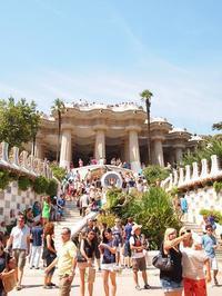 グエル公園とロープウェイ スペイン旅行 - la carte de voyage
