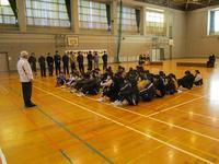 別府地区6年生を送る会 - 日出ミニバスケットボール