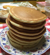 パンケーキ★(^^♪・・・・・朝ごぱん - 日だまりカフェ