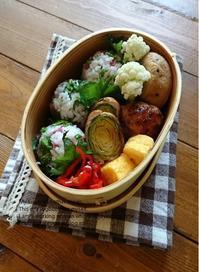 2.13 芽キャベツ肉巻き弁当 - YUKA'sレシピ♪