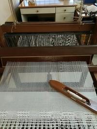 ハックレースストール - アトリエひなぎく 手織り日記