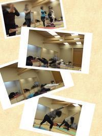 ☆近江町畳ヨガご参加ありがとうございました(^v^)&次回のお知らせ♪ - さちヨガ