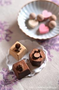 バレンタインを前に - お茶の時間にしましょうか-キャロ&ローラのちいさなまいにち- Caroline & Laura's tea break
