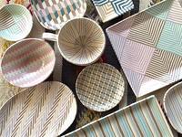 日本橋三越さんでの個展は明日から! - irodori窯~pattern pottery~