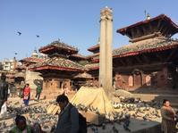 初ネパール出張中☆地震の傷跡.... - おはけねこ 外国探訪