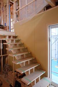階段設置 - ハヤカワ日記