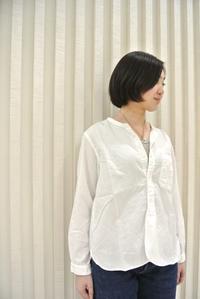 OMNIGOD::Stand Collar Shirts - JUILLET