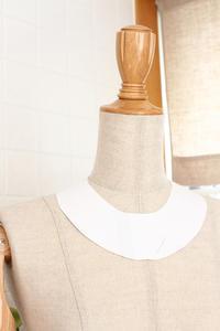 首飾りの土台用型紙を作っています - ビーズ・フェルト刺繍作家PieniSieniのブログ