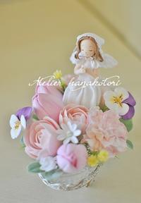 お花と小さな天使   - 大きな栗の樹の下で