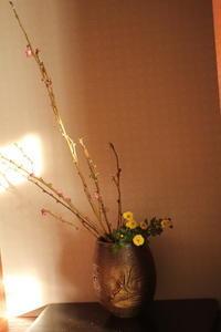 花を活ける - ゆすらうめのジャム