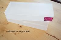 布&裁縫道具の収納、ようやくコレ!という形を見つけた - welcome to my home!
