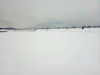 音もなく 見渡す限り 雪の原 - 視線の先には