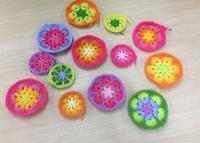 カラフルモチーフ☆増産中 - Flower*Crochet
