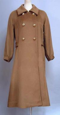 光沢あるウールコート - 私のドレスメイキング