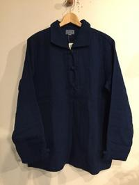 GAIJIN MADE / INDIGO DOUBLE GAUZE CHINA JACKET - Safari ブログ