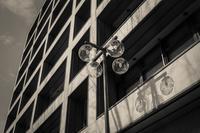 2017年2月16日 己の光蜥蜴に戸惑う街灯 - Silver Oblivion