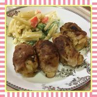 揚げないコロッケ-豚肉巻き焼きコロッケ- - kajuの■今日のお料理・簡単レシピ■
