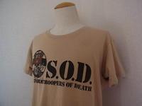 Vintage 80s S.O.D. クロスオーバー スラッシュ Thrash 古着バンドTシャツ - Used&Select 古着屋 コーナーストーン CORNERSTONE