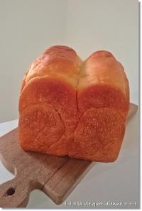 好みの焼成方法は。。。とイマイチ真四角豆乳食パン - 素敵な日々ログ+ la vie quotidienne +