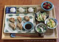 れんこん餃子と小籠包(๑¯﹃¯๑) ✿ ひとり手抜き弁♪ - **  mana's Kitchen **