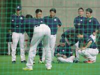 松岡健一投手2017キャンプフォト(動画リンク1)腰痛で2軍西都へ - Out of focus ~Baseballフォトブログ~