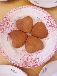 チョコクッキーを焼きました☆ - ドイツより、素敵なものに囲まれて