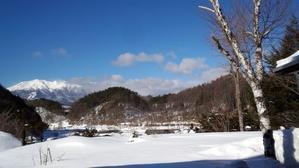 2月15日、「朝刊」地震のような、落雪シーズン! - 開田のポッポ屋