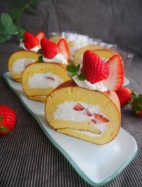 いちごのロールケーキ♪ - This is delicious !!