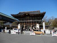 成田山新勝寺へ - 【出逢いの花々】