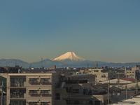 富士山だ〜!!  2月15日(水)  5955 - from our Diary. MASH  「写真は楽しく!」