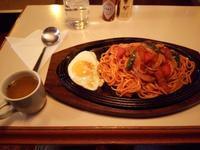 三番館さんでナポリタン(千歳市幸町) - eihoのブログ